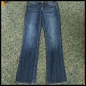 Lucky Brand New Easy Rider 0/25 Straight leg Jeans